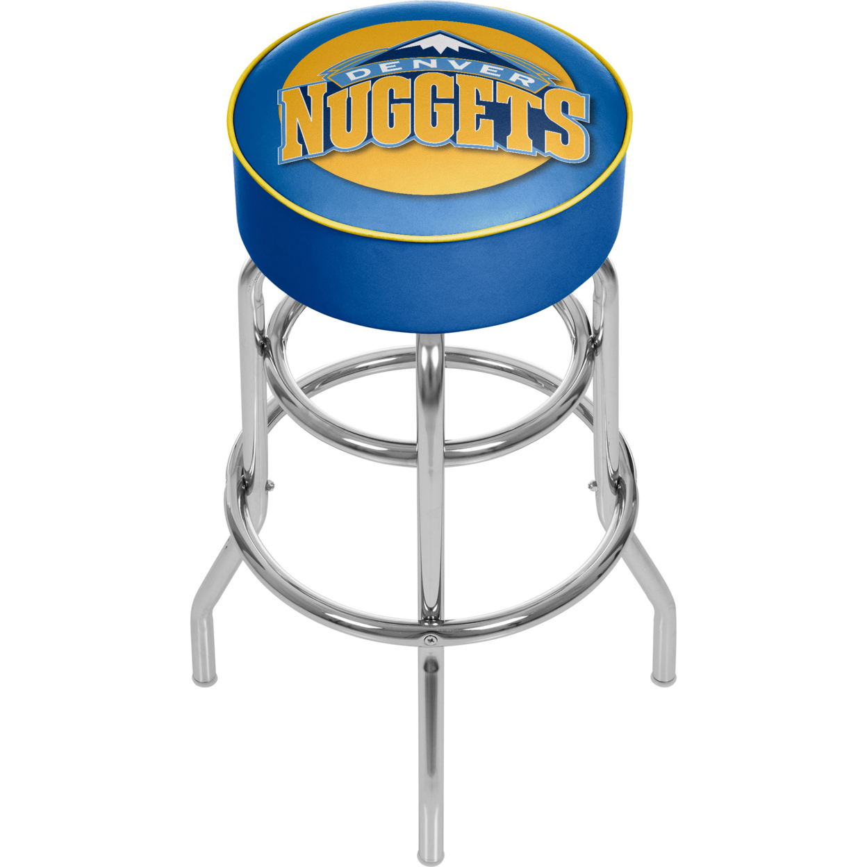 Denver Nuggets NBA Padded Swivel Bar Stool 30 Inches High фанатская атрибутика nike curry nba