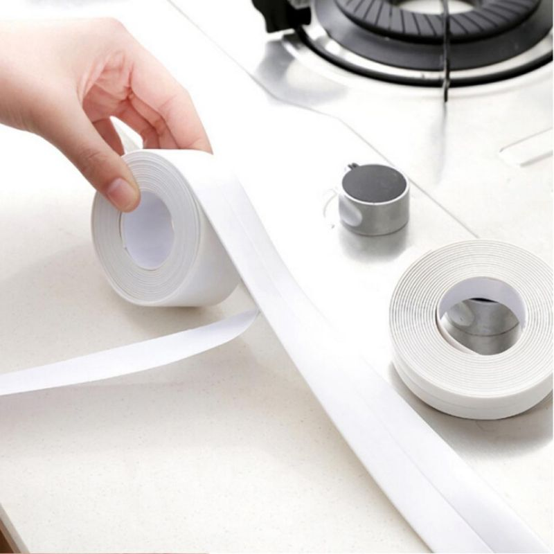 Kitchen Fridge Mildew Proof Tape Bathroom Waterproof Tape for Wall Household Appliances Multi-functional Kitchen Tape SZ