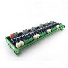 PLC AC amplifier board transistor 24-way AC output original thyristor optocoupler isolation relay control board new original 1771 oad plc 10 138v digital ac output module