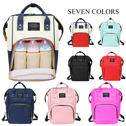 Baby Diaper Bags Backpack Diaper Baby Bag Big Capacity Baby Bag Wet Bag Oxford Cloth Mummy Maternity Backpack Nappy Backpack