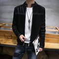 LQ08 PU Motorcycle Leather Jacket Mens Leather Jackets And Coats Pilot Leather Jacket Men