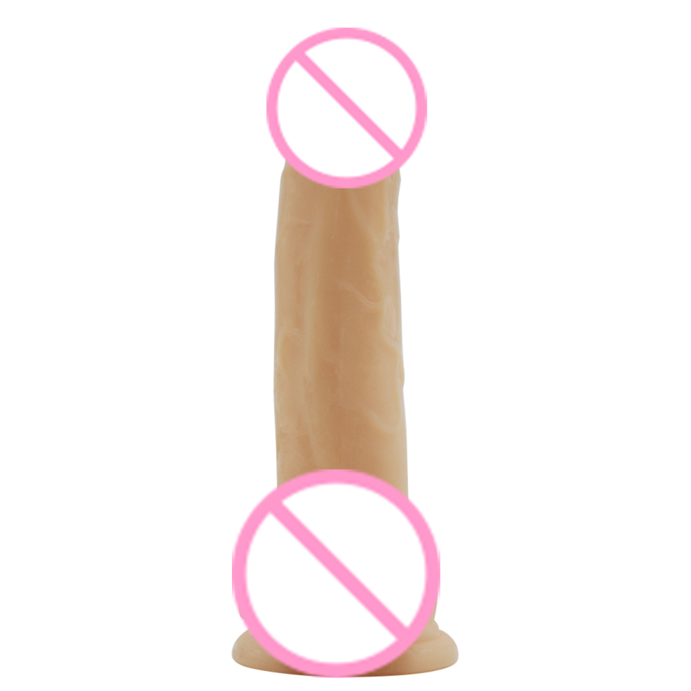 Simulation Dildo Flexible Penis Textured Shaft Sex Toy Adult Product for Women in Dildos from Beauty Health