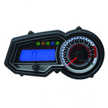 """Ro-bin-son"" / mate LCD electronic tachometer / odometer / speedometer high-grade motorcycle instrument parts"