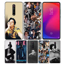 Phone Pattern Black Rubber Soft Silicone Case Bag Cover for Redmi 7A Note 7 6 7S Y3 K20 Pro Core Shell Riverdale Cole Sprouse Ju(China)
