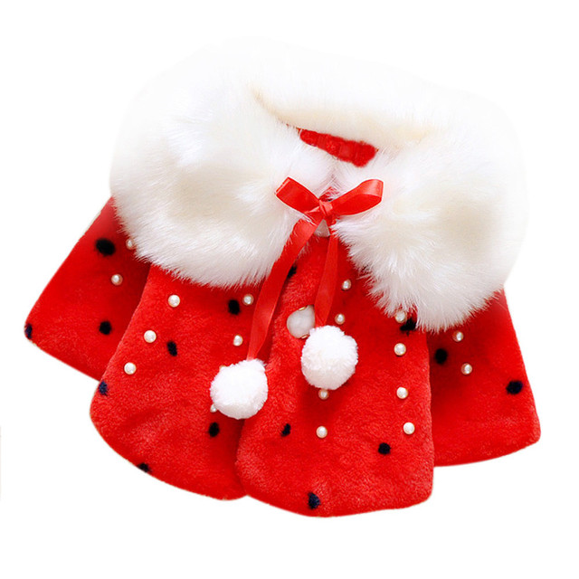 Niñas abrigo de invierno Infantil Del Bebé de la Chaqueta de Piel de Invierno Capa Gruesa ropa de bebé niña niños chaquetas de invierno de gran