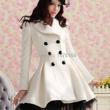 Мода Принцесса Женская Лолита Милая Готическая куртка длинная кружевная Белая Куртка парка ветрозащитная куртка veste