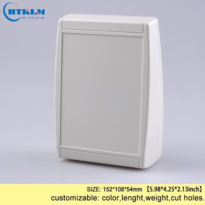 Small plastic box for electronic diy project box desktop enclosure junction box housing product diy instrument case 152*108*54mm|Wire Junction Boxes| |  - title=