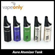 เดิมvapeonly auraถังฉีดน้ำบุหรี่อิเล็กทรอนิกส์3มิลลิลิตรe-ของเหลวความจุauraถังสำหรับvapeonly auraชุดvape 5สี