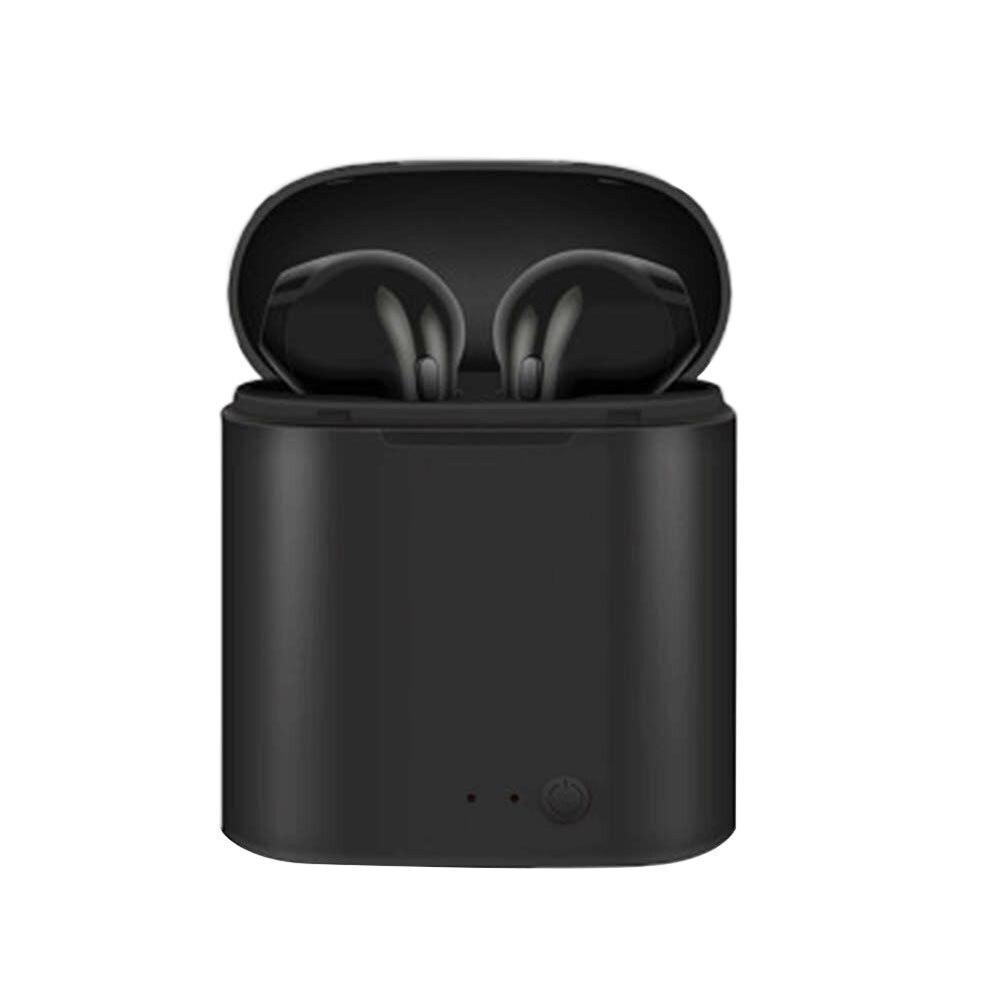 Wahre Bluetooth Headset Drahtlose i7 TWS Drahtlose Kopfhörer Casque Sans Fil Lade Box Drahtlose Hörer Bluetooth Kopfhörer