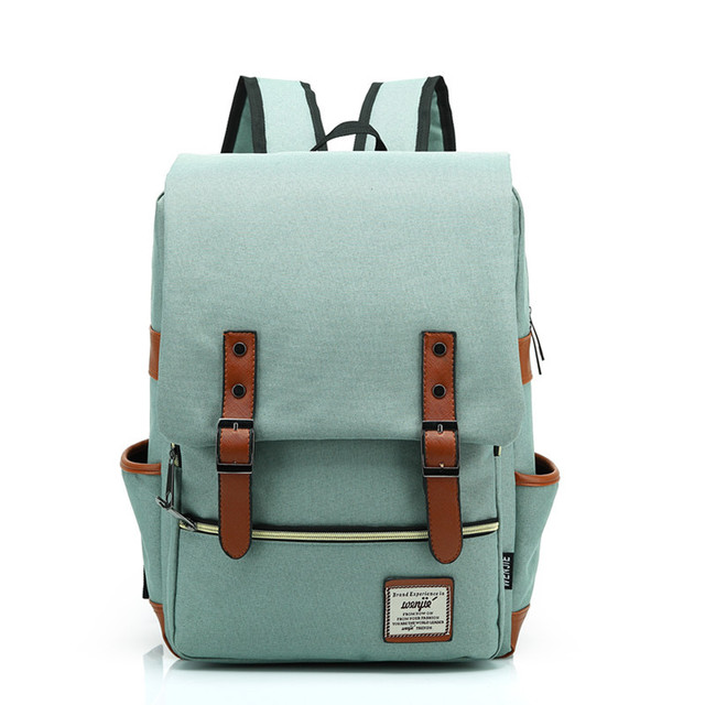 wholesale foreign trade new large capacity canvas backpack Women and men  retro fashion shoulder bag backpack 902722ac92cd