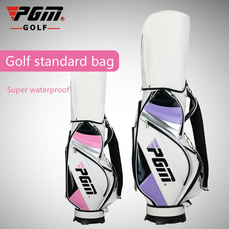 Lightweight Golf Stand Bag Cart Bag 14 Way Full Length Individual Divider Top Golf Bag Golf Club Organizer Bag 2 Colors mizuno aerolite x golf stand bag white royal page 1