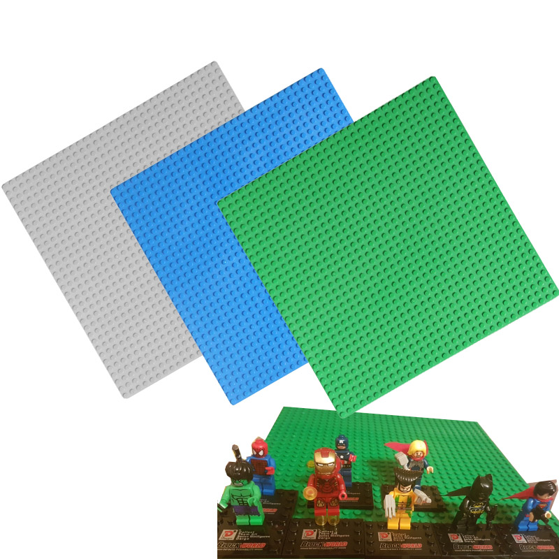 Legoings Classic Base Plates Plastic Bricks Baseplates Compatible Major Brands Building Blocks Construction Toys 32*32 Dots цена