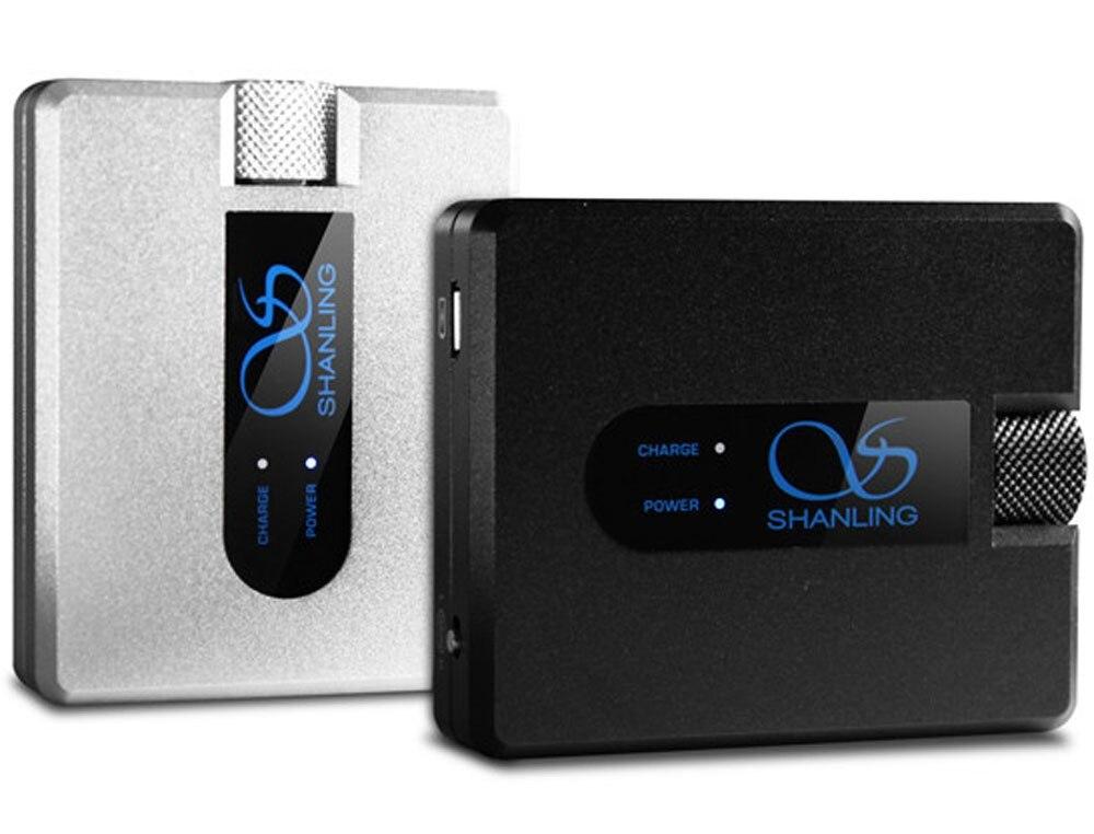 SHANLING H1 Mini amplificateur de casque Portable TPA6120A2 OPA2134 accueil Audio numérique Hifi amplificateur de casque AMP noir/argent
