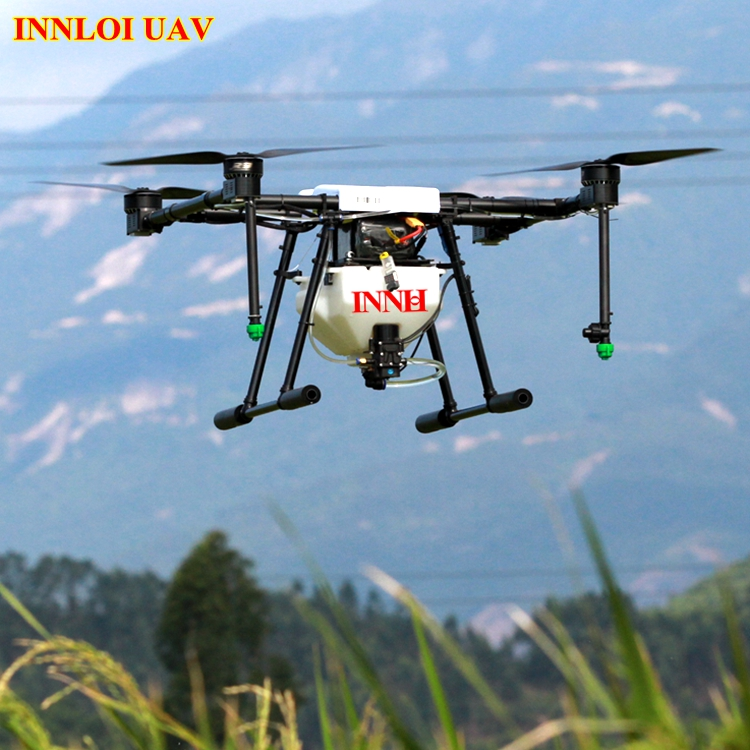 4 rotor Carbon fiber frame for Agricultural UAV drone with 5L spraying gimbal 4 Axis Carbon