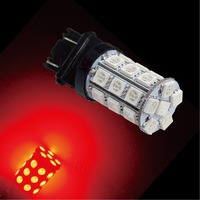 PA LED 2pcs x Super Bright 3157 Color RED 14V Motorcycle Brake Light 30SMD 5050 LED