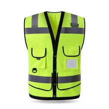 High Quality High Visibility Reflective Vest Working Clothes Motorcycle Cycling Sports Outdoor Reflective Safety Clothing #102