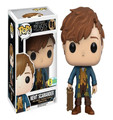 NEW hot 10cm Fantastic Beasts and Where to Find Them Newt Scamander collectors action figure toys Christmas gift doll with box
