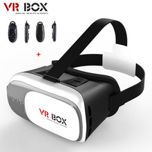 HOT VR BOX II 2 0 Google Cardboard Version VR Virtual Reality 3D Glasses For 3