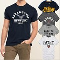 Free ship new 2015 summer Top Men Short Sleeve t-shirt designer Plus Size Cotton casual men t shirt men t-shirts Tops & Tees