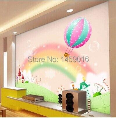 fototapete kinderzimmer regenbogen bibkunstschuur. Black Bedroom Furniture Sets. Home Design Ideas