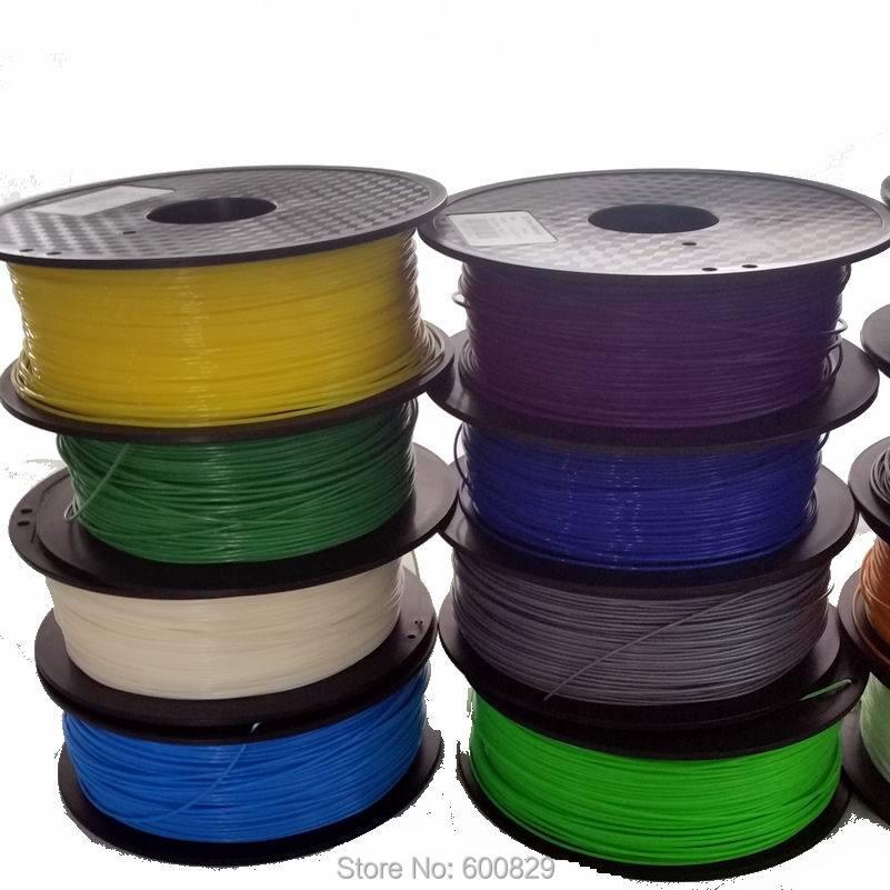 Prix pour 1 KG (400 M) ABS 1.75mm 3D Filament 20 Couleurs Pour Imprimante 3D Impression 3D Pen
