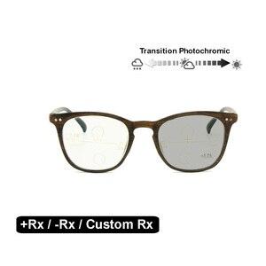 Image 2 - Gafas ópticas fotocromáticas de transición, gafas de lectura de fuerza personalizadas, para miopía, hipermetropía, Rx + Rx, Retro, Nerd, UV400