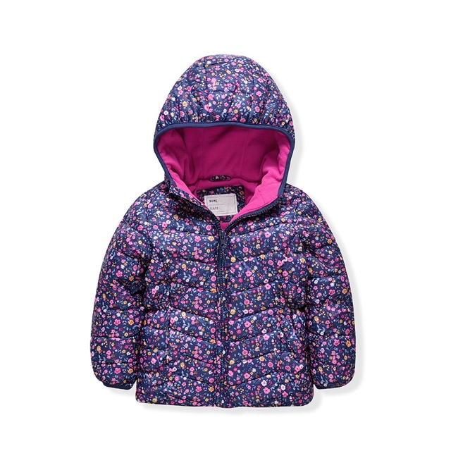 2f8b11dac children kids girls autumn spring thin padded jacket w  fleece ...