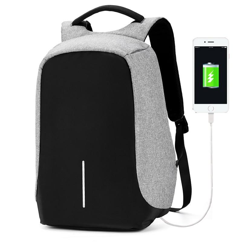 Multifunction USB charging Men <font><b>Laptop</b></font> same bobby Backpack for Women anti thief Travel waterproof Back Pack school backpack bag
