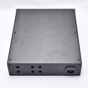 Image 5 - KYYSLB 260*70*311MM DIY Box 2607B All Aluminum Amplifier Chassis Case Preamplifier Chassis Amp Enclosure Housing with Louvers