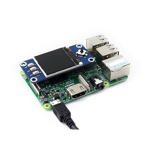 Image 4 - Waveshare 1.44 インチ lcd ディスプレイ帽子ラズベリーパイ 2B/3B/3B +/ゼロ/ゼロワット、 128 × 128 ピクセル、 spi インタフェース、 ST7735S ドライバ
