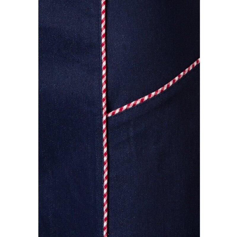 Mezclilla Marino mujeres Saia Tamaño Vintage J'adore Faldas Más De Azul 50 Retro Falda Sexy 35 Lápiz Ajustado S Ropa Navy Pinup Wiggle vqB8nZvd
