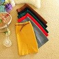 Alfa Nueva Falda de Las Mujeres Solid Delgado Tejer Falda Lápiz OL Señoras Hermosas Faldas Con Cinturón de 6 Colores