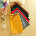 Alpha New Women Skirt Solid  Slim Knitting OL Pencil Skirt Beautiful Ladies Skirts With Belt in 6 Colors