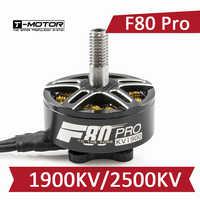 T-Motor F80 PRO-1900KV 2500KV Bürstenlosen Motor RC Drone FPV Racing Multi Rotor