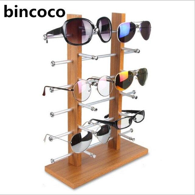 bincoco Sun Glasses Eyeglasses Plastic Frame Display Stands Shelf ...