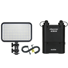 1pcs/lot Godox LED170 Kit Video Light + PB960 Battery Pack + LX Power Cable Kit For Digital Camera Photography