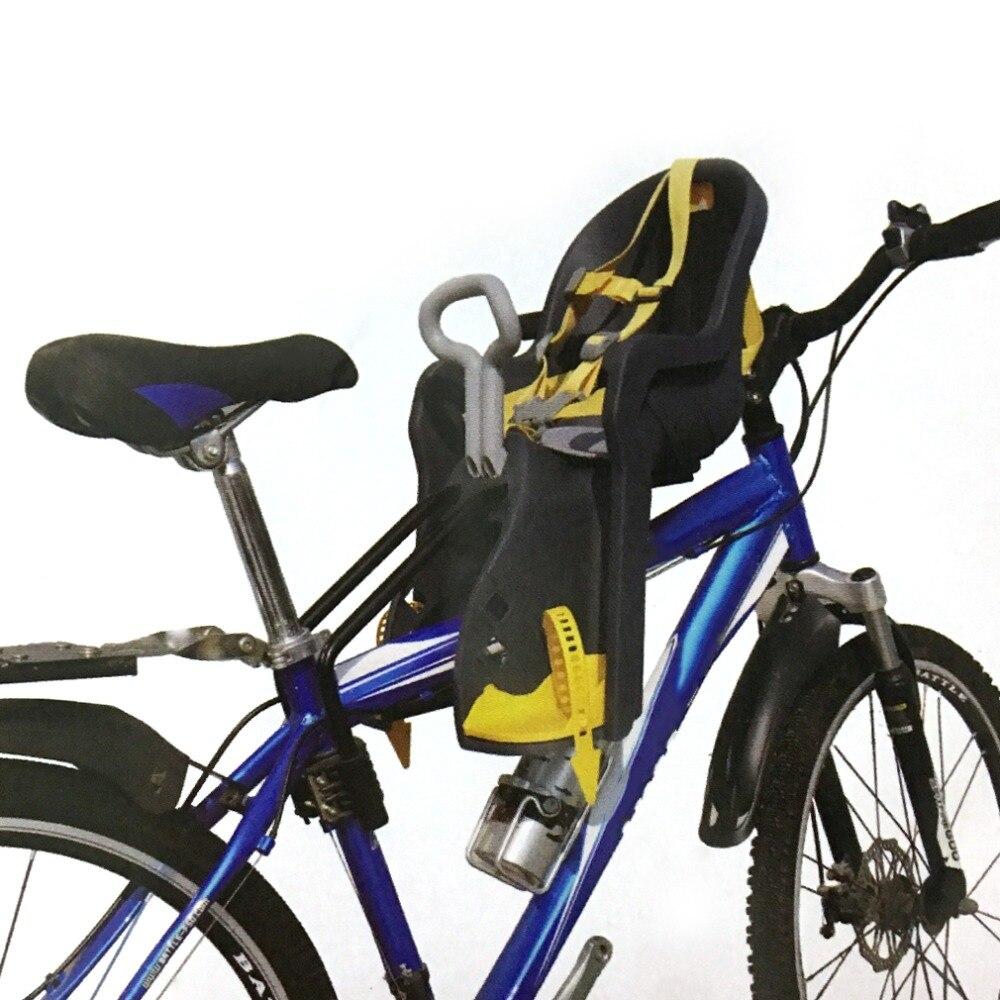Enfants Vtt Siège Enfants Confortable Vélo Bébé Protéger Avant Siège Selles Transporteur Avec Main Courante Vélo Accessoire