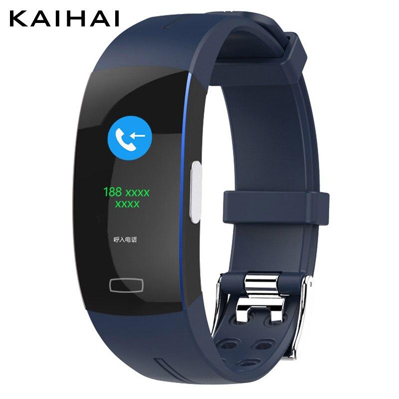 Kaihai 2019 активность артериальное давление умный Браслет пульсометр