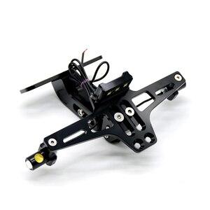 Image 4 - Para benelli honda moto suporte da placa de licença turn sigals bn300 bn302 bn600 bn tnt 300 600 grom msx125 msx 125 pcx 125 150