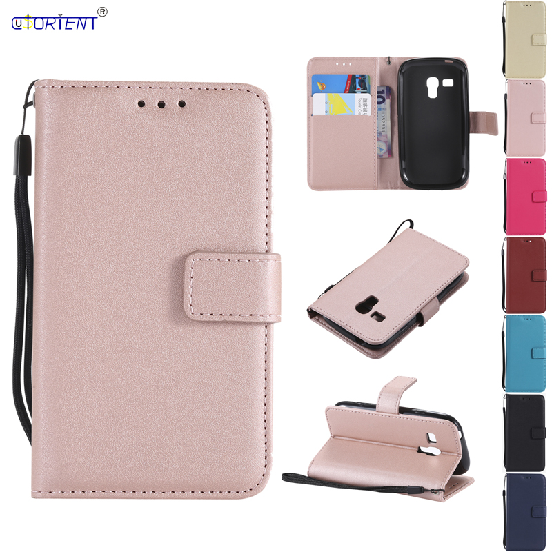 for Samsung Galaxy S3 S 3 mini i8190 GT-i8190 Phone Leather Cover for Galaxy S iii mini i8200 GT-i8200 GT-i8200n G730 Flip Cases image