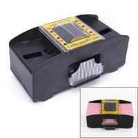 Wooden/Plastic Card Shuffler Robot 1-2 Decks Shuffling Machine Playing Cards Poker Shuffler Auto Machine Device