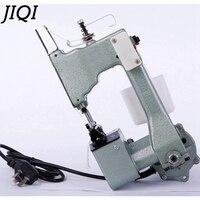 Jiqi máquina de costura elétrica máquinas selagem handheld saco de pano industrial mais perto liga alumínio manual costura fabricante plugue da ue|handheld sealing machine|closer bag|machine sealed bags -