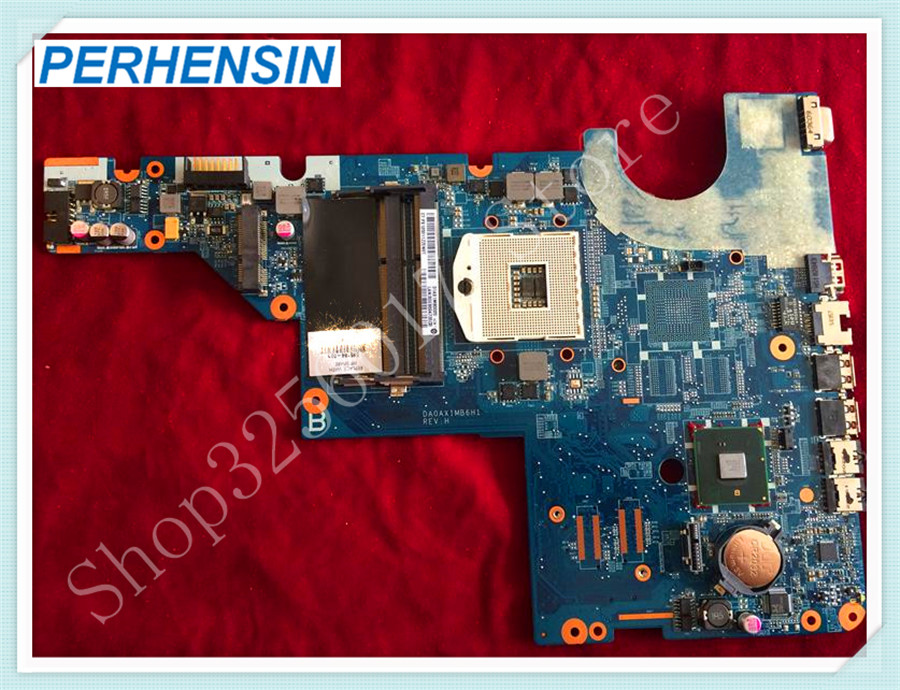 For HP For Compaq CQ42 G42 CQ62 G62 HM55 Motherboard DA0AX1MB6H1 595184-001 100% tested good цена