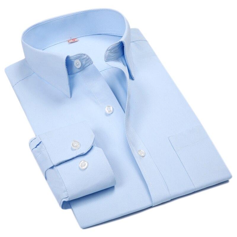 Plus Size 6xl Striped Men Shirts Cheap Long Sleeve Casual