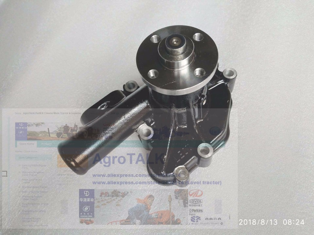 Yanmar 4TNV94 parts for excavator, loader, the water pump with gasket, part number: 129907-42000 kubota water pump with gasket reference 15321 73032