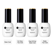 UR SUGAR 15 มิลลิลิตร Peel Off Base Coat Matte No Wipe Top Coat Soak Off UV LED (China)