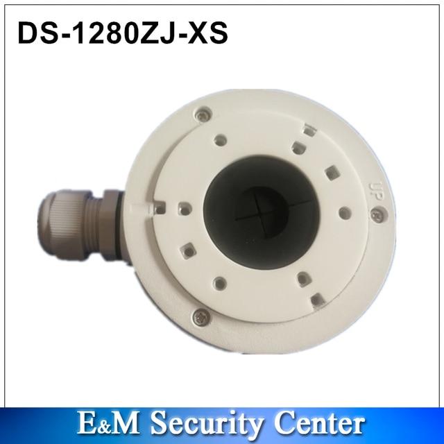 Originele hik DS 1280ZJ XS aluminium aansluitkast voor bullet camera hoge kwaliteit beugel voor DS 2CD2055FWD I DS 2CD2085FWD I
