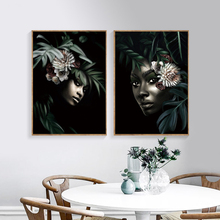 Nordic African Art Canvas Painting Posters And Prints Portrait Pictures Wall For Living Room Bedroom Modern Home Decor SID321