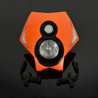 Motorcycle Universal LED Headlights Headlamps StreetFighter For KTM EXC SX SXF XCW XC CRF YZF WRF