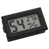 LCD Digital Thermometer Hygrometer Measurement & Analysis Instruments